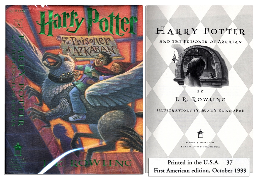 ''Harry Potter and the Prisoner of Azkaban'' -- First American Edition, First Printing