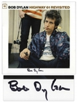Bob Dylan Signed Album Highway 61 Revisited -- With Roger Epperson COA