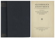 Alcoholics Anonymous Big Book First Edition, Sixth Printing