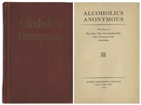 First Edition, First Printing of Alcoholics Anonymous Big Book -- One of Less Than 2,000 Copies