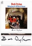 Bob Dylan Signed Album Bringing It All Back Home -- With Roger Epperson COA