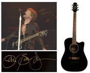Jon Bon Jovi Stage Played & Signed Acoustic-Electric Guitar