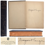 Margaret Sanger Signed Copy of Her Book, My Fight for Birth Control