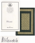 Nelson Mandela Signed Luxury First Edition of His Celebrated Autobiography Long Walk to Freedom -- Fine Condition