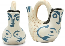 Pablo Picasso Figure de Proue, Number 136 -- Vase Created at the Madoura Pottery Studios