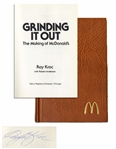 Ray Kroc Signed Copy of Grinding It Out: The Making of McDonalds -- Near Fine