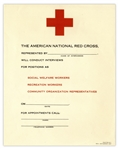 Red Cross Employment Flyer