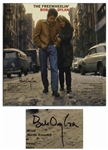 Bob Dylan Signed Album The Freewheelin Bob Dylan -- With Roger Epperson COA