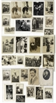 Lot of 30 Personal Moe Howard Family Photos, Approximately 3 x 4 -- His Wife & Children, Brother Irving & One of His Sister-in-Law Lil Taken the Same Day He Met His Future Wife Helen -- Very Good