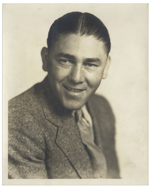 Moe Howard 8'' x 10'' Matte Publicity Still Circa 1930 Even Though Marked 1933 on Reverse -- Very Good Condition
