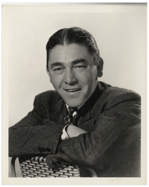 Clarence Sinclair Bull 8'' x 10'' Semi-Glossy Portrait of Moe Howard -- Done for MGM, Circa 1934 -- Near Fine Condition