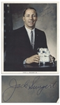 Jack Swigert Signed 8 x 10 Photo -- From His Personal Collection