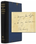 John F. Kennedy Signed Profiles in Courage -- With University Archives COA