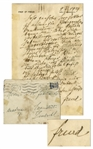 Sigmund Freud Autograph Letter Signed -- ...Already the old Romans knew about love...