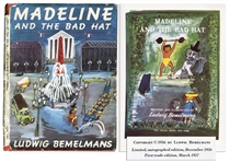 Ludwig Bemelmans Madeline and the Bad Hat -- First Edition With Dust Jacket