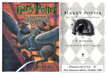 Harry Potter and the Prisoner of Azkaban -- First American Edition, First Printing