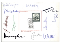 Mt. Everest 1978 Team-Signed Postcard -- The First Climbers to Reach the Summit Without Supplemental Oxygen