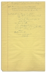 Handwritten Note by Richard Nixon in August 1966 -- As He Was Preparing for His Presidential Candidacy -- ...When govt. makes [it] more profitable not to work than to work - change govt...