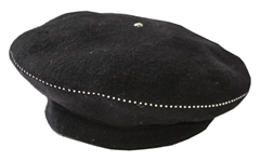 Alicia Keys Worn Beret Designed by Lola -- With a COA From The Singer