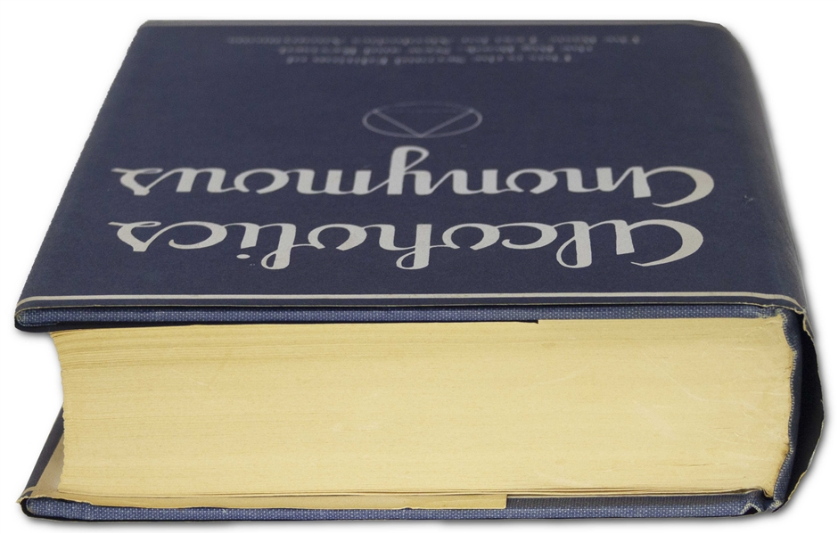 Bill Wilson Signed Copy of the Alcoholics Anonymous ''Big Book''