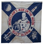 Buzz Aldrin Parade Banner, Highlighting His Hometown of Montclair, New Jersey