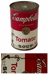 Andy Warhol Signed Iconic Campbells Soup Label