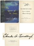 Charles Lindbergh Signed Copy of The Spirit of St. Louis -- Uninscribed