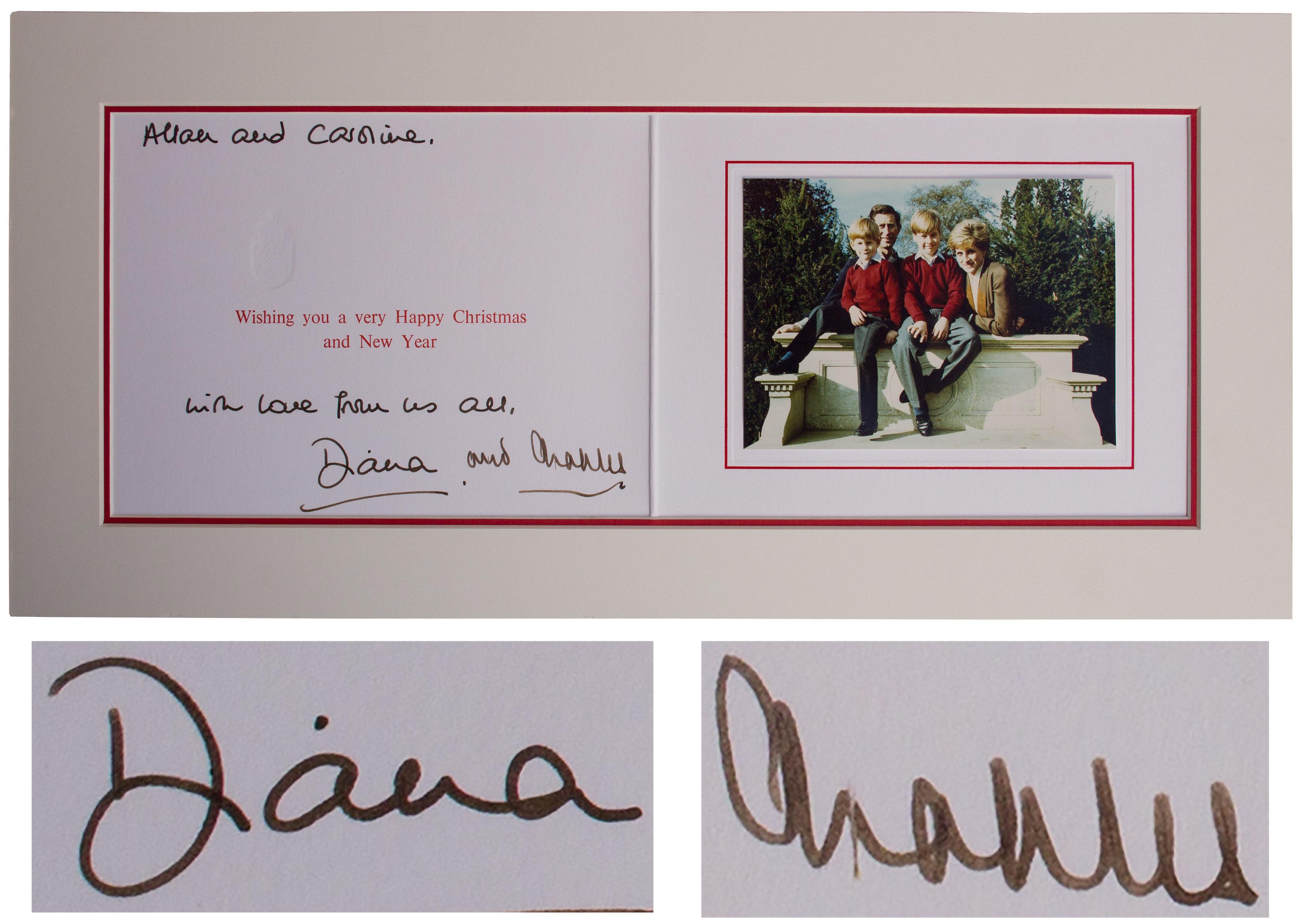 9+ Princess Diana Christmas Family Photo