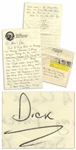 Dick Scobee Autograph Letter Signed to His Parents, Three Months Before the Challenger Disaster -- ...After the flight were going to take the vacation well really need...