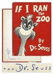 Dr. Seuss Signed Copy of His Classic If I Ran the Zoo