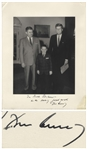 John F. Kennedy Signed 11 x 14 Photo -- With University Archives COA