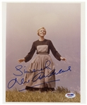 Julie Andrews Signed 8 x 10 Photo From The Sound of Music -- PSA/DNA Certified
