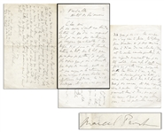 Marcel Proust Autograph Letter Signed -- ...I had written you a tender letter, and one which, with a pride to which I am not accustomed, I believed to be witty!...