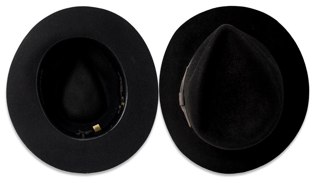 Michael Jackson's Famous Black Fedora -- Made by Dorfman-Pacific, Dating it to Pre-August 1988