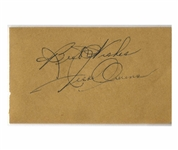 Olympic Gold Medalist Jesse Owens Signature