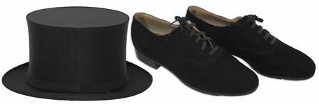 Ray Bolgers Tap Shoes & Top Hat