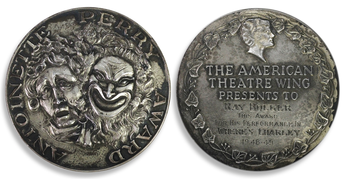 Ray Bolger's Tony Award -- From the 3rd Year of the Awards for the 1948 Production of ''Where's Charley?'' for Best Performance by a Leading Actor in a Musical