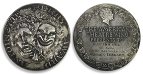 Ray Bolgers Tony Award -- From the 3rd Year of the Awards for the 1948 Production of Wheres Charley? for Best Performance by a Leading Actor in a Musical