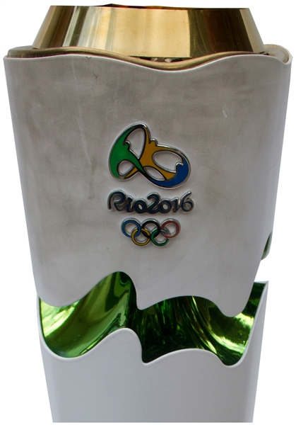 Olympic Torch Used in 2016 Rio Summer Games