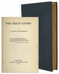 First Edition, First Printing of The Great Gatsby -- Near Fine Condition
