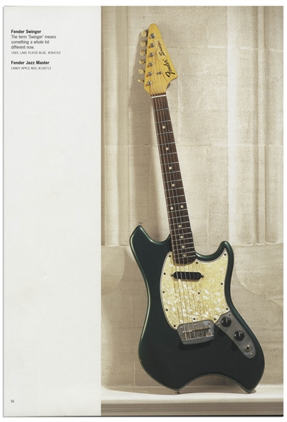 The Who's John Entwistle Personally Owned Fender Swinger Guitar From 1969 -- One of the Rarest Production Guitars Ever Made, With Provenance From Sotheby's John Entwistle Estate Sale