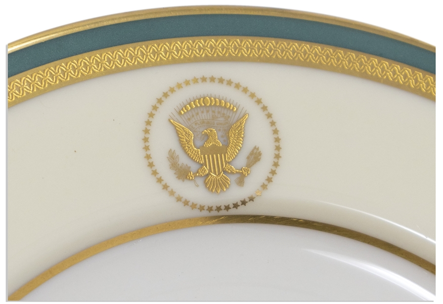 Harry S. Truman White House Entree Plate, in Fine Condition