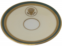 Harry S. Truman White House Saucer, in Fine Condition