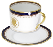 Ronald Reagan White House China Cup and Saucer