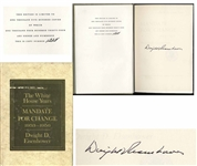 Dwight D. Eisenhower Signed Limited Edition of His Memoir, The White House Years -- Uninscribed, #1228 of the Limited Edition
