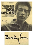 "Bob Dylan Signed Album ""The Times They Are A-Changin"" -- With Roger Epperson & Jeff Rosen COAs"