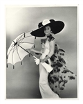 "Audrey Hepburn 11"" x 14"" Photo From ""My Fair Lady"" -- Taken by Cecil Beaton & From Audreys Personal Collection"