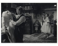 "Audrey Hepburns Personally Owned Photo From ""Love in the Afternoon"" -- Measures 15.5"" x 11.5"""
