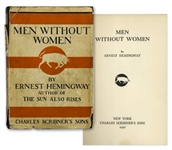 Ernest Hemingways Men Without Women First Edition, First Printing