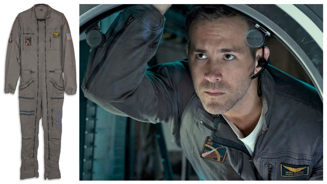 Ryan Reynolds Screen-Worn Flight Suit From the Movie Life -- Along With His Socks